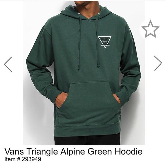 2ec39299df Green Vans Sweatshirt